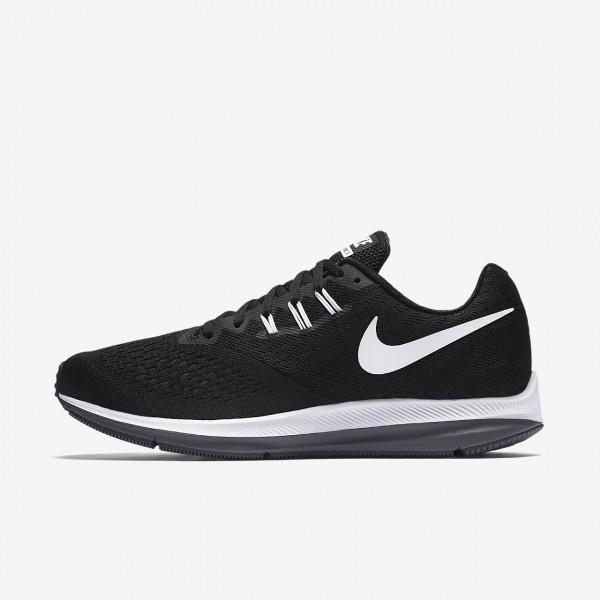 Nike Zoom Winflo 4 Laufschuhe Herren Schwarz Dunke...