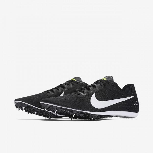 Nike Zoom Victory 3 Spike Schuhe Herren Schwarz Grün Weiß 402-30692