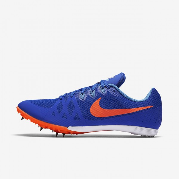 Nike Zoom Rival M 8 Spike Schuhe Herren Blau Rot 5...