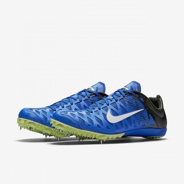 Nike Zoom Maxcat 4 Spike Schuhe Herren Blau Schwarz Grün Weiß 725-36563