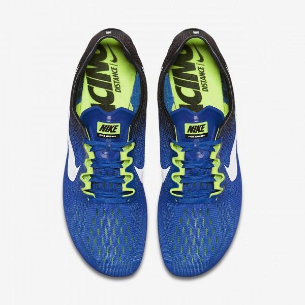 Nike Zoom Matumbo 3 Spike Schuhe Herren Blau Schwarz Grün Weiß 503-90197