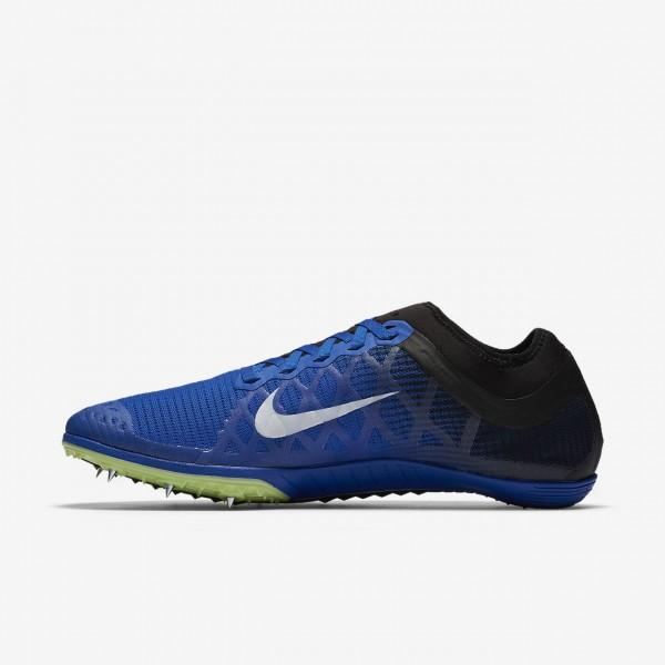 Nike Zoom Mamba 3 Spike Schuhe Herren Blau Schwarz Grün Weiß 761-27630