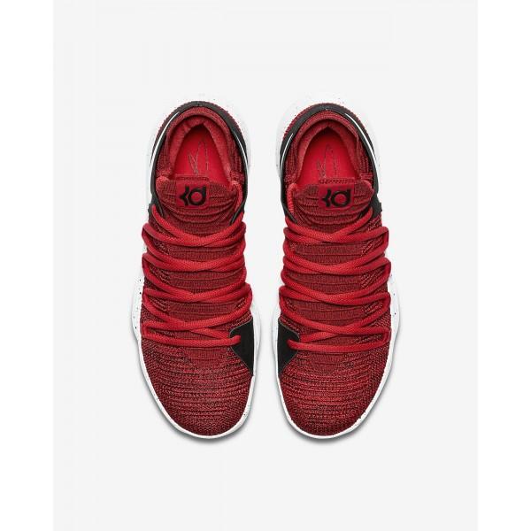 Nike Zoom Kdx Basketballschuhe Herren Rot Schwarz Platin 321-46294