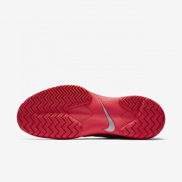 Nike Zoom Cage 3 Tennisschuhe Herren Rot Metallic Silber 334-61502