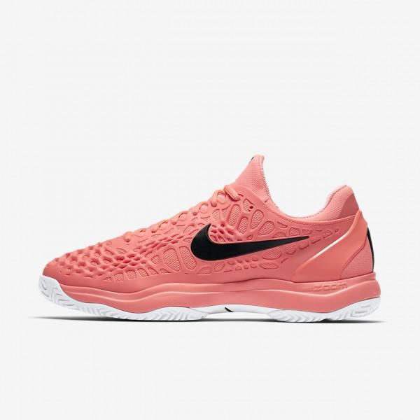 Nike Zoom Cage 3 Tennisschuhe Herren Rosa Weiß Sc...