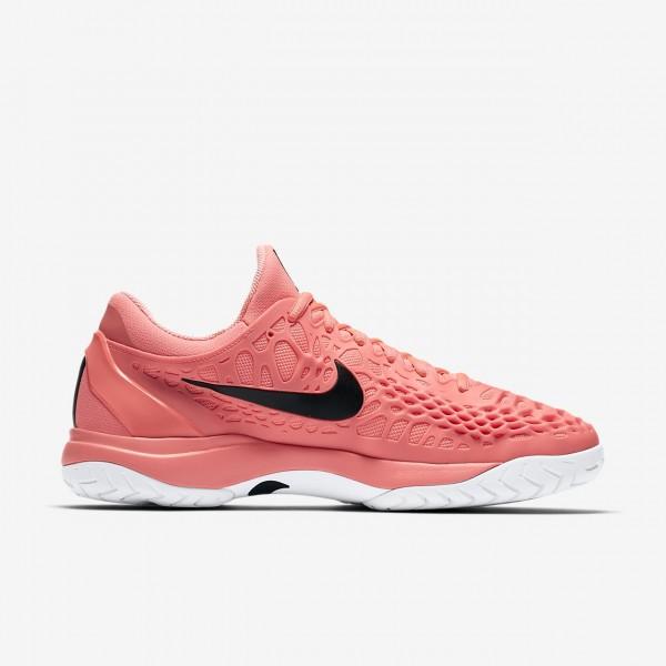 Nike Zoom Cage 3 Tennisschuhe Herren Rosa Weiß Schwarz 233-12813