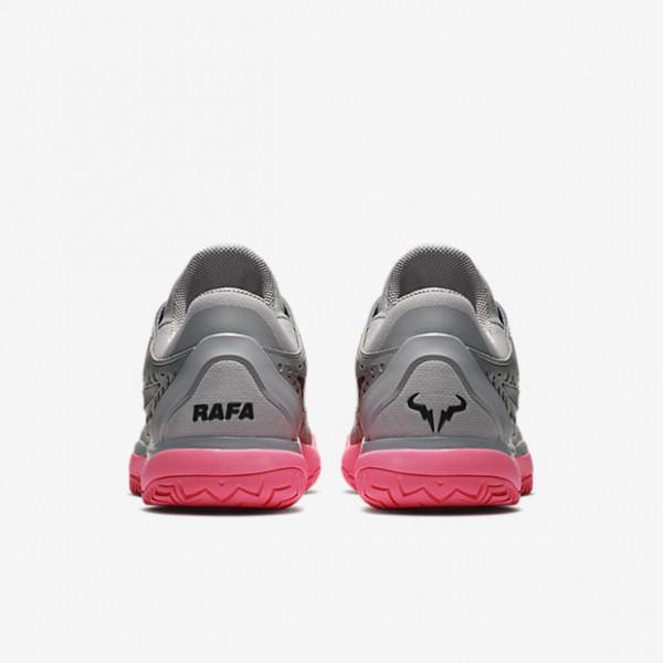 Nike Zoom Cage 3 Tennisschuhe Herren Rosa Weiß Schwarz 348-72928