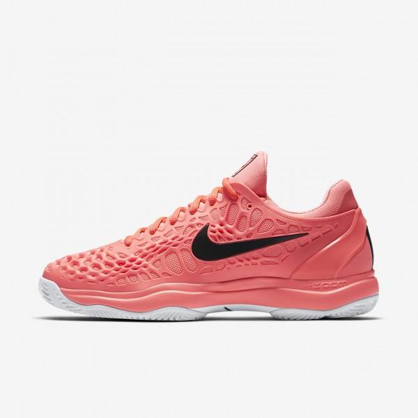 Nike Zoom Cage 3 Clay Tennisschuhe Herren Rosa Wei...