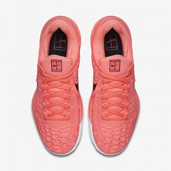 Nike Zoom Cage 3 Clay Tennisschuhe Herren Rosa Weiß Schwarz 139-65529