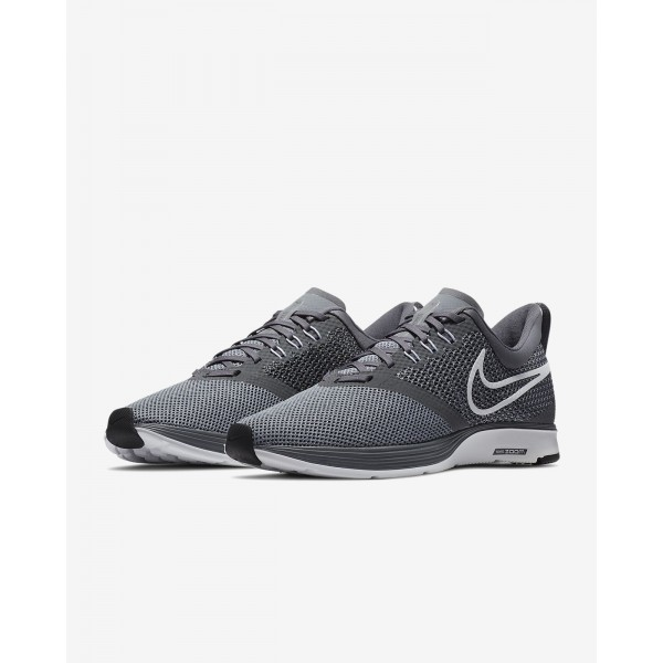 Nike Zoom Strike Laufschuhe Herren Dunkelgrau Schwarz Weiß 247-41610