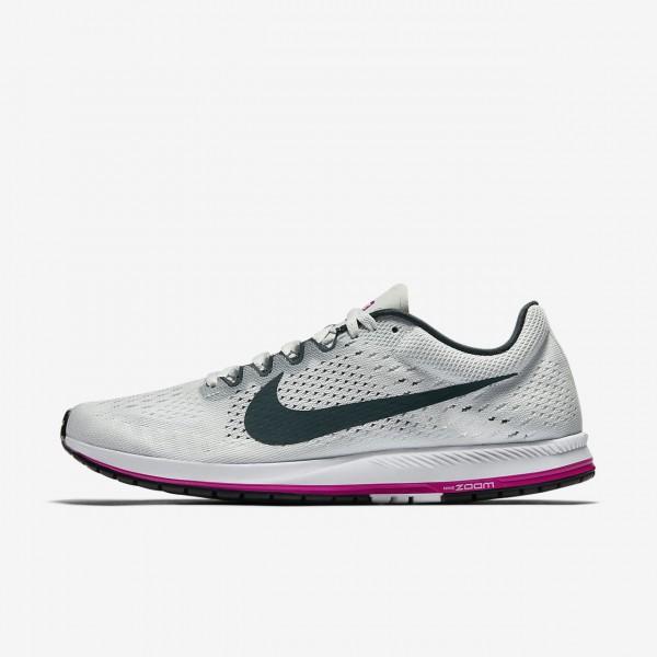 Nike Zoom Streak 6 Laufschuhe Herren Grau Fuchsie ...