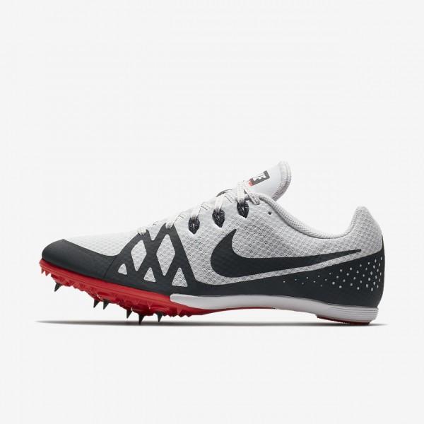 Nike Zoom Rival M 8 Spike Schuhe Herren Grau Rot W...