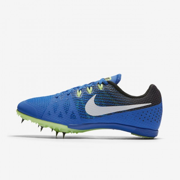 Nike Zoom Rival M 8 Spike Schuhe Herren Blau Schwarz Grün Weiß 636-51154