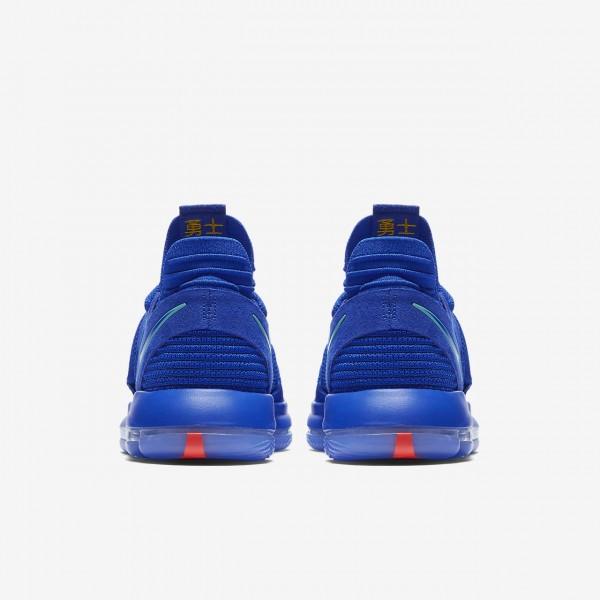 Nike Zoom Kdx Basketballschuhe Herren Blau Schwarz Rot Hellgrün 839-96891