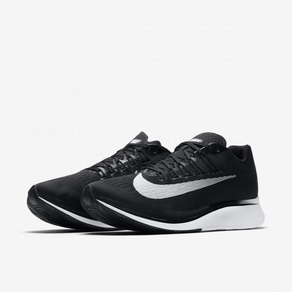 Nike Zoom Fly Laufschuhe Herren Schwarz Weiß 833-86610