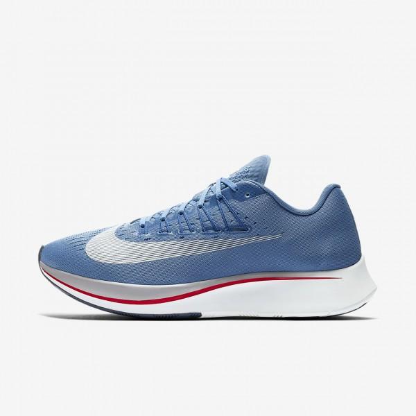 Nike Zoom Fly Laufschuhe Herren Blau Weiß 597-709...