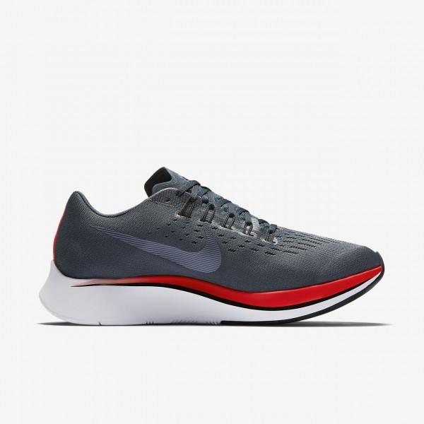Nike Zoom Fly Laufschuhe Herren Blau Rot Schwarz 115-85021