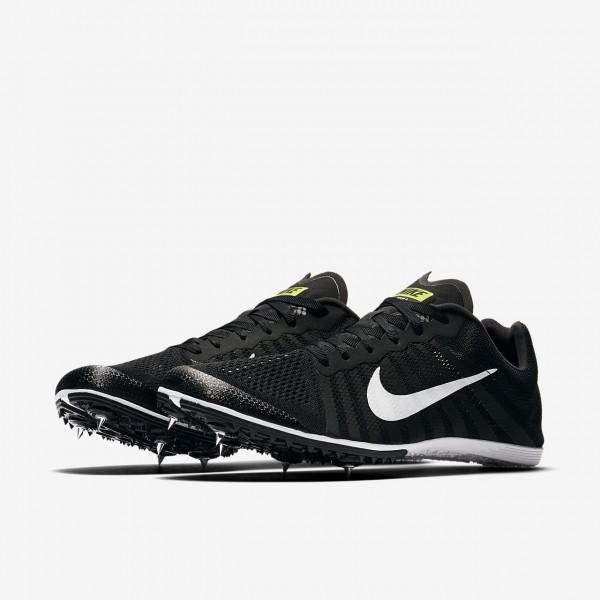 Nike Zoom D Spike Schuhe Herren Schwarz Grün Weiß 410-65841