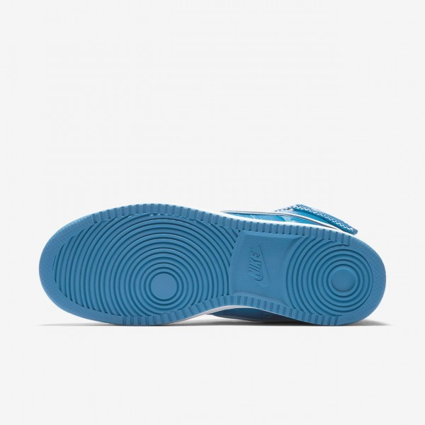 Nike Vandal high Supreme Freizeitschuhe Herren Blau Weiß 292-67579