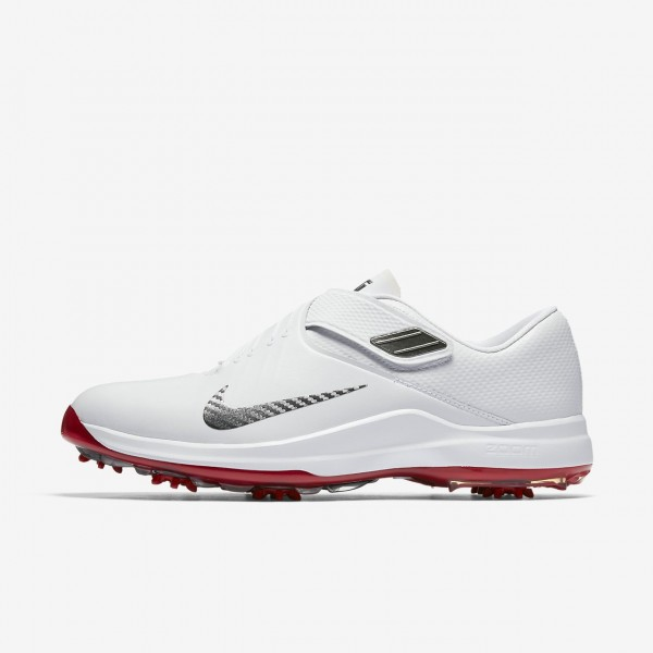Nike Tw 17 Golfschuhe Herren Weiß Rot Metallic Du...