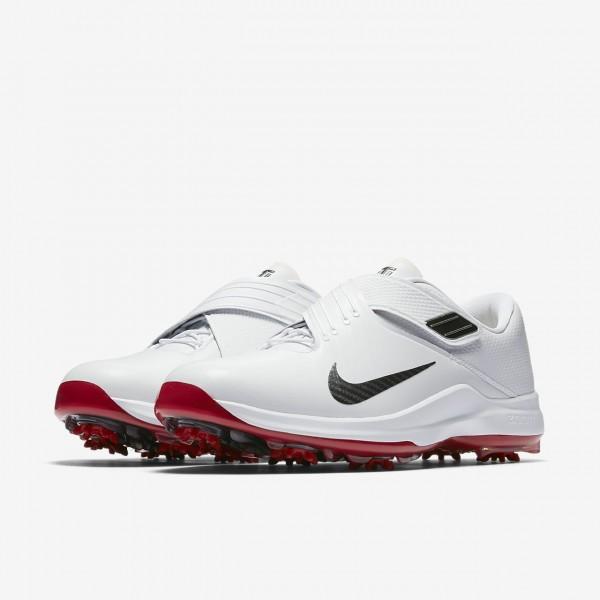Nike Tw 17 Golfschuhe Herren Weiß Rot Metallic Dunkelgrau 232-33154