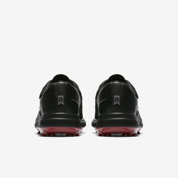 Nike Tw 17 Golfschuhe Herren Schwarz Rot Metallic Silber 154-34682