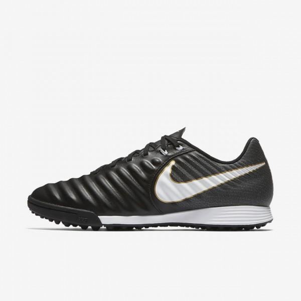Nike Tiempox Ligera Iv Tf Fußballschuhe Herren Schwarz Weiß 489-78540