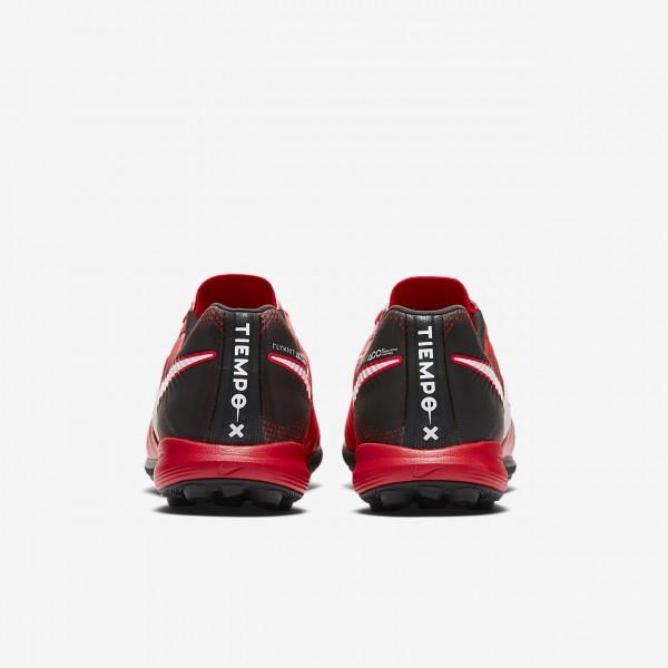 Nike Tiempox Proximo II Tf Fußballschuhe Herren Schwarz Rot Weiß 341-76035