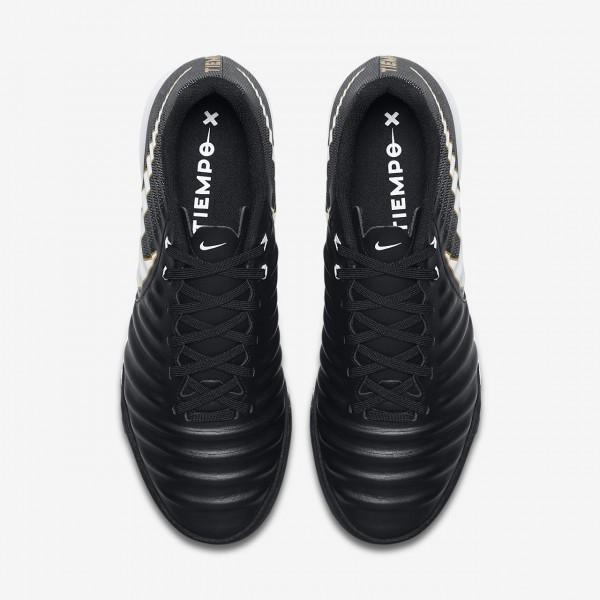 Nike Tiempox Ligera Iv Ic Fußballschuhe Herren Schwarz Weiß 685-14707
