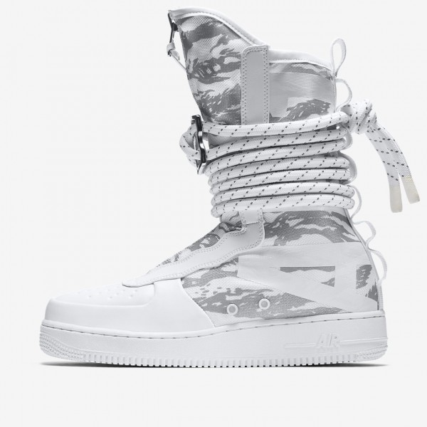 Nike Sf Air Force 1 Hi Ibex Boots Herren Weiß 731...