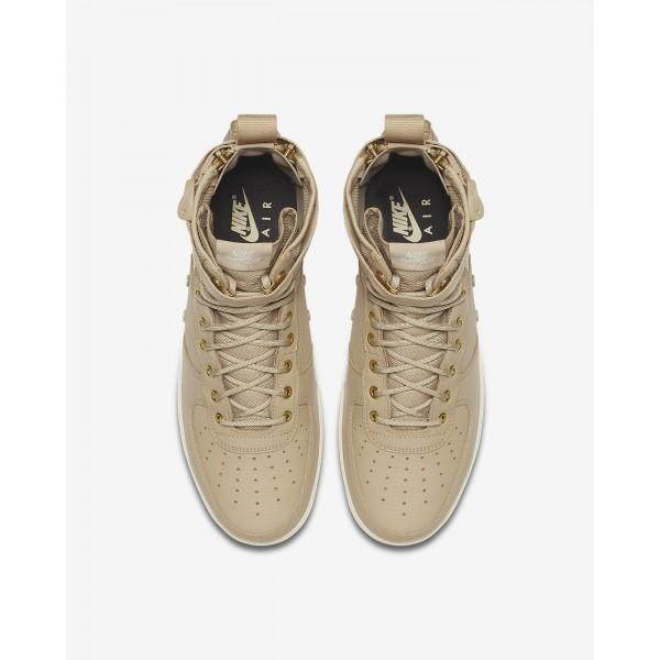 Nike Sf Air Force 1 Mid Freizeitschuhe Herren Beige Weiß 888-38814