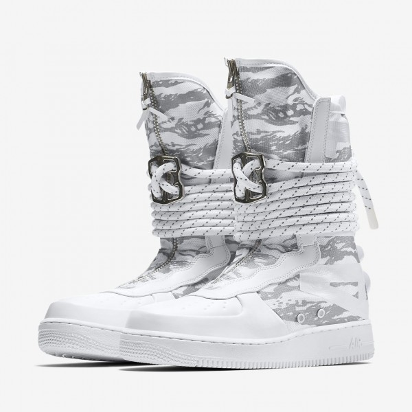 Nike Sf Air Force 1 Hi Ibex Boots Herren Weiß 731-19702