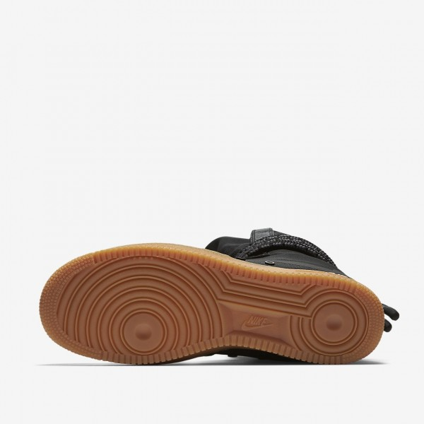 Nike Sf Air Force 1 Hi Boots Herren Schwarz Braun 402-14063
