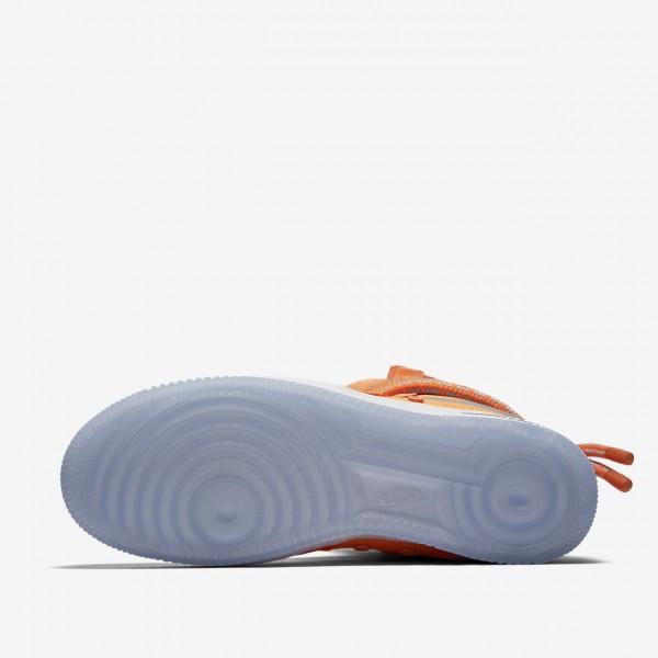 Nike Sf Air Force 1 Hi Boots Herren Orange Weiß 555-95108