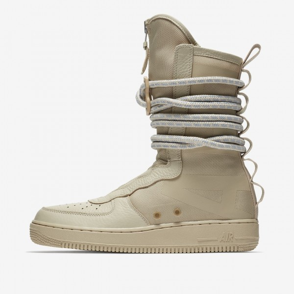 Nike Sf Air Force 1 Hi Boots Herren Beige 116-8725...