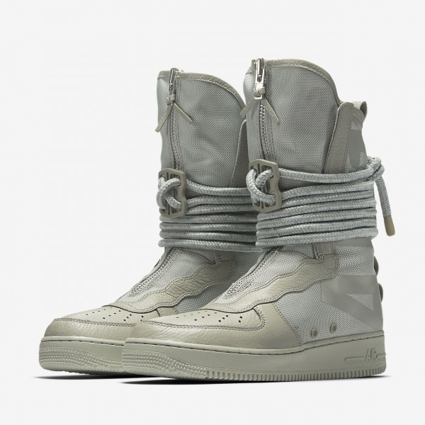 Nike Sf Air Force 1 Hi Boots Herren Grau 278-25370
