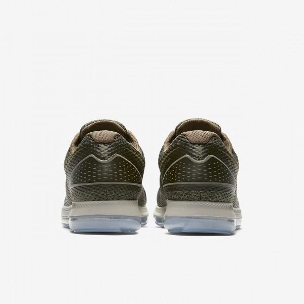 Nike Zoom All Out low 2 Laufschuhe Herren Olive Gelb Weiß 520-46115