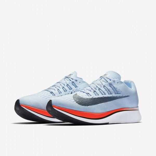 Nike Zoom Fly Laufschuhe Herren Blau Rot 359-36170