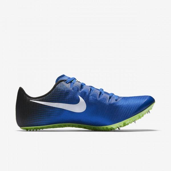 Nike Superfly Elite Spike Schuhe Herren Blau Schwarz Grün Weiß 487-10078