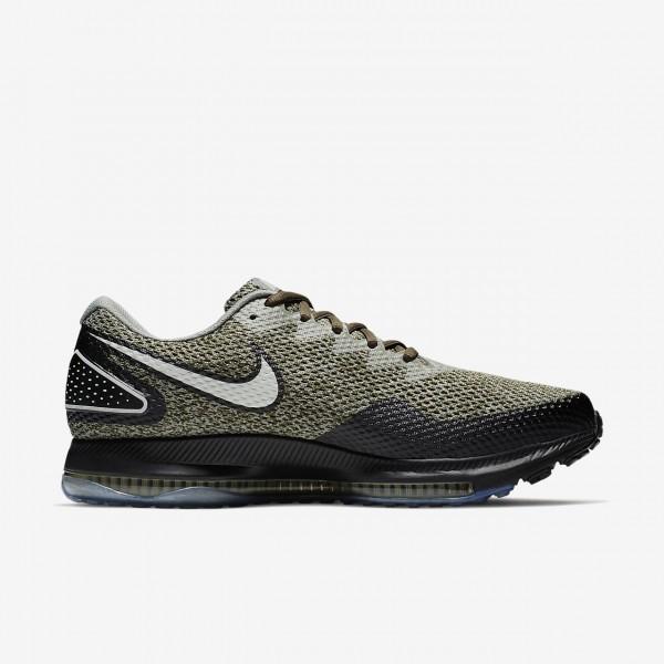 Nike Zoom All Out low 2 Laufschuhe Herren Khaki Schwarz Weiß 610-47848