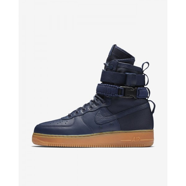 Nike Sf Air Force 1 Boots Herren Navy Schwarz Brau...