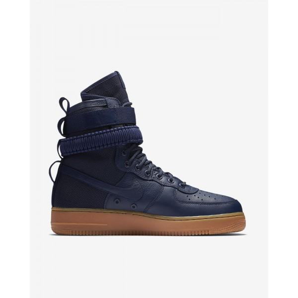 Nike Sf Air Force 1 Boots Herren Navy Schwarz Braun 830-48782