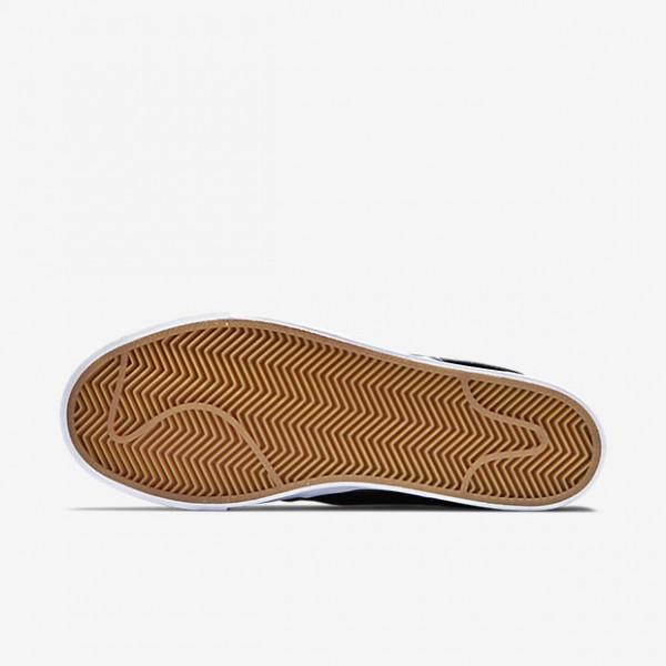 Nike Sb Zoom Stefan Janoski Skaterschuhe Herren Schwarz Weiß 672-35329