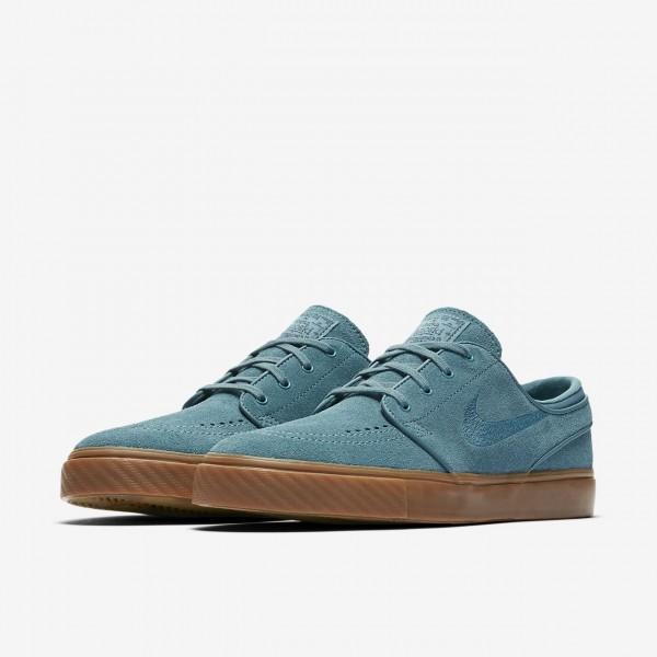 Nike Sb Zoom Stefan Janoski Skaterschuhe Herren Blau Dunkelbraun 897-85197