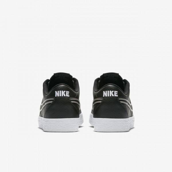 Nike Sb Zoom Bruin Premium Se Skaterschuhe Herren Schwarz Weiß 776-49827