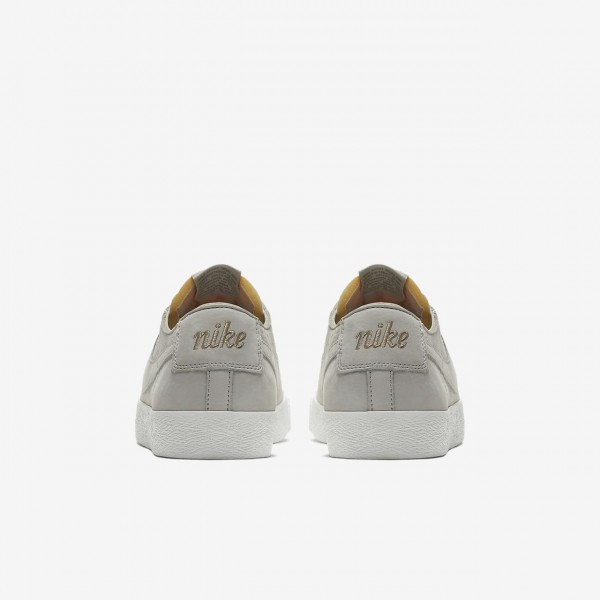 Nike Sb Zoom Blazer low Deconstructed Skaterschuhe Herren Weiß Khaki 545-75362