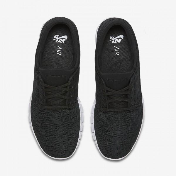 Nike Sb Stefan Janoski Max Skaterschuhe Herren Schwarz Weiß 288-82248
