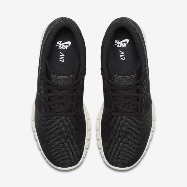 Nike Sb Stefan Janoski Max Mid Skaterschuhe Herren Schwarz Grün 795-44737