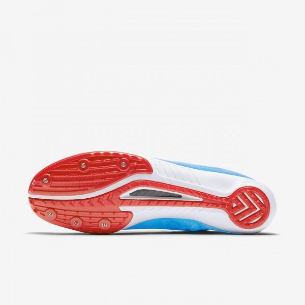 Nike Zoom Mamba 3 Spike Schuhe Herren Blau Rot 521-49228