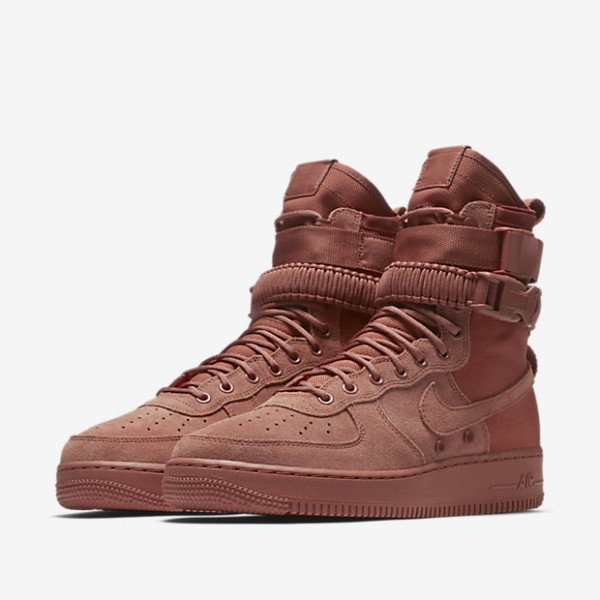 Nike Sf Air Force 1 Boots Herren Pink 928-63583